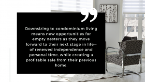Downsizing to Condo Living for Empty Nesters in Waterford, MI