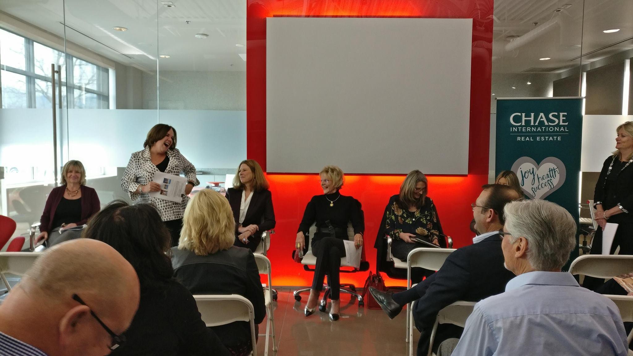 Chase International Luxury Real Estate Agent Panel Presentation