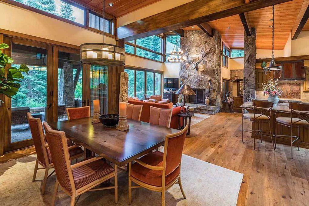 martis camp open concept home