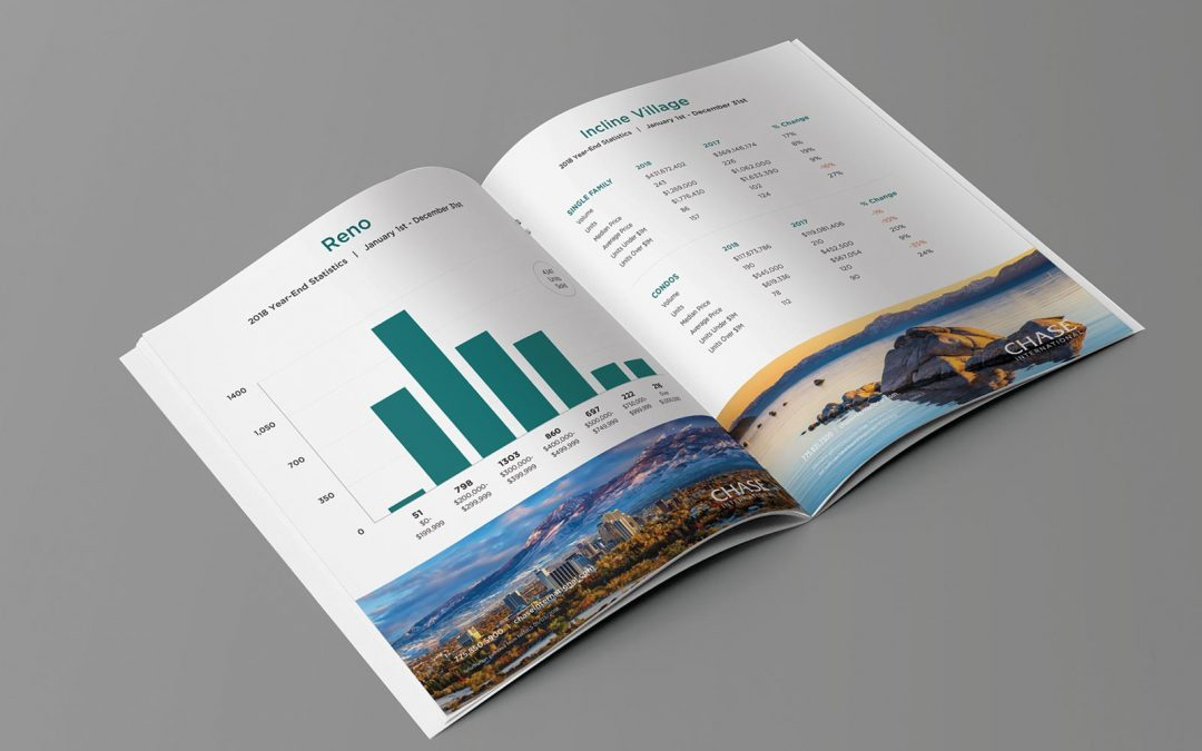 Chase International year-end 2018 Reno-Tahoe-Carson real estate market reports.