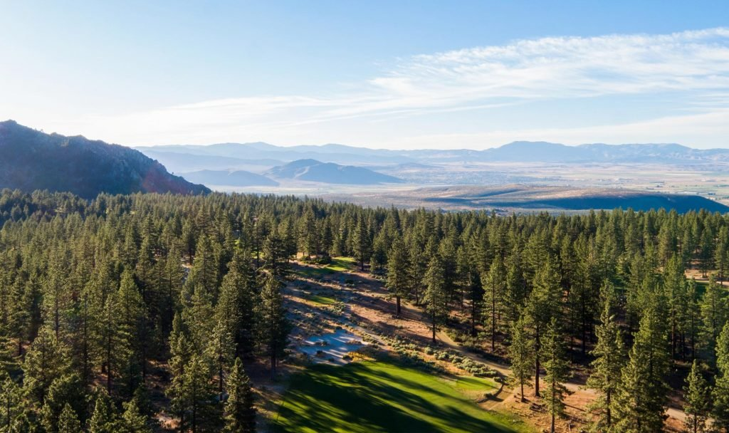 clear creek tahoe golf and panoramic view lots