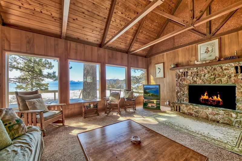 Classic Tahoe Cabin Lakefront Sold by Chase International