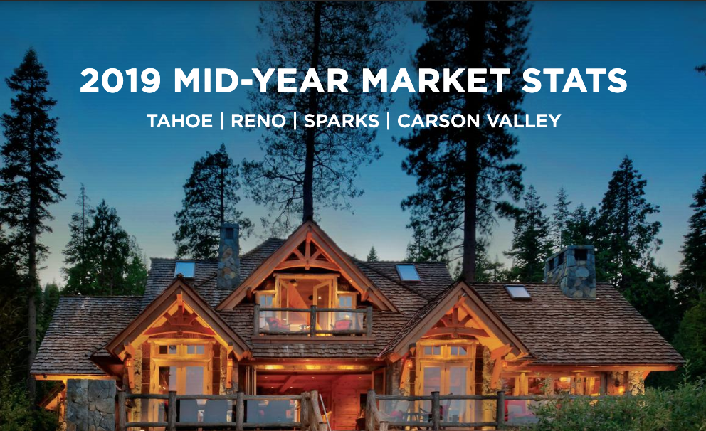 Mid-Year 2019 Reno-Tahoe Real Estate Market Reports