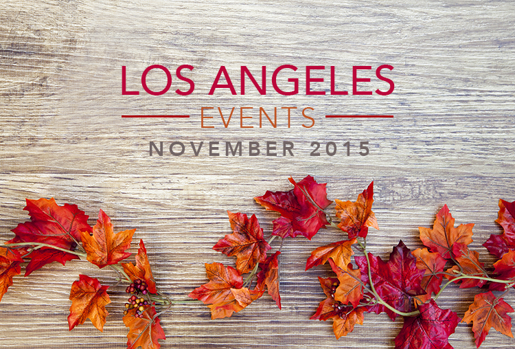 Events in Los Angeles County | November 2015