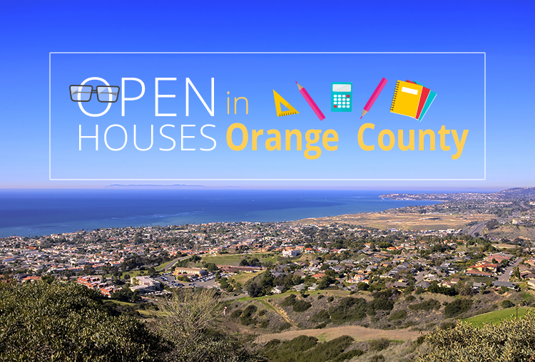 Open Houses This Weekend in Orange County – September 15-16