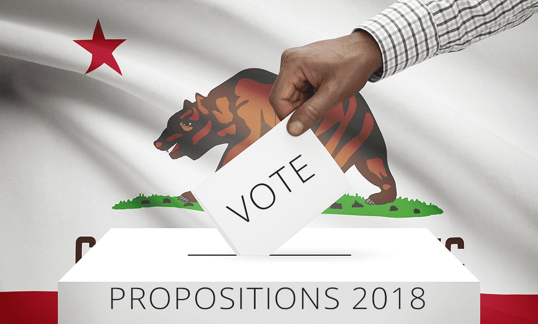 From Cage Free Eggs to Real Estate Rentals, These are the Propositions on the California Ballot 2018