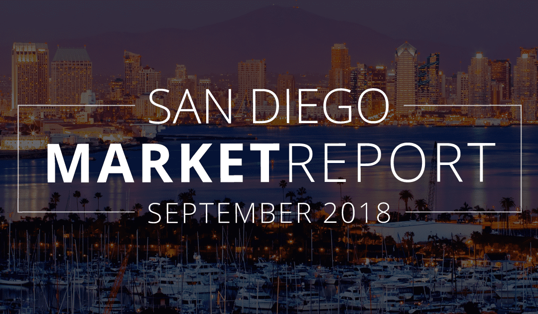 San Diego County Real Estate Market Update | September 2018