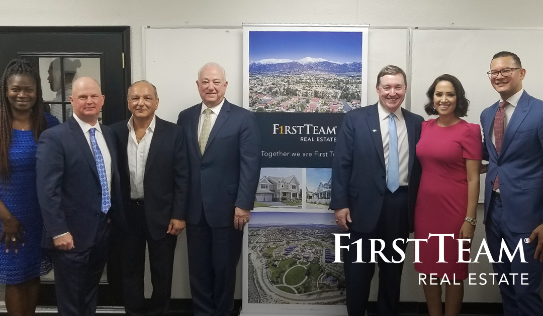First Team Real Estate Expands Market Share in Rancho Cucamonga, CA and Celebrates Growth with Lawyers Realty