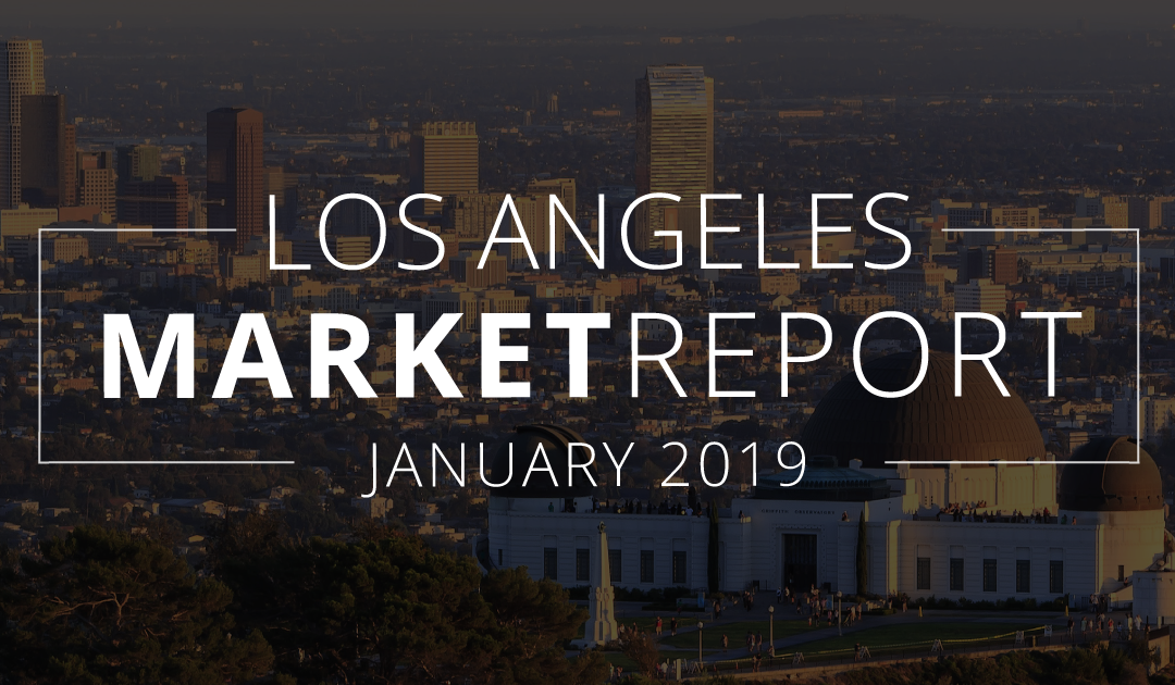 Los Angeles County Real Estate Market Update | January 2019