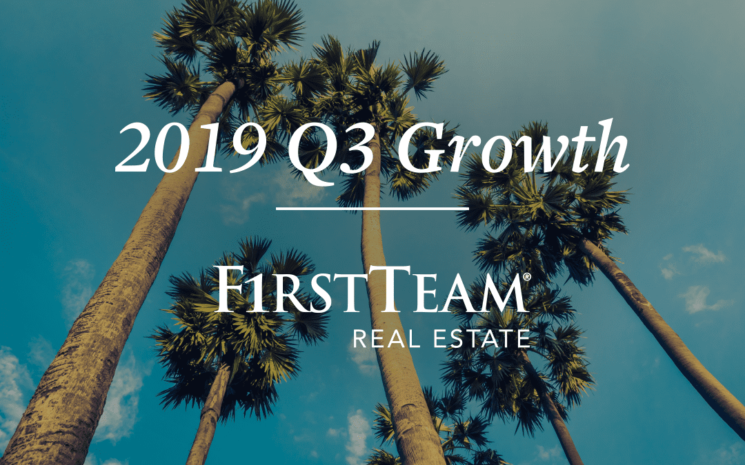 While Other Brokerages Suffer, First Team Real Estate Posts Unprecedented Growth in Q3