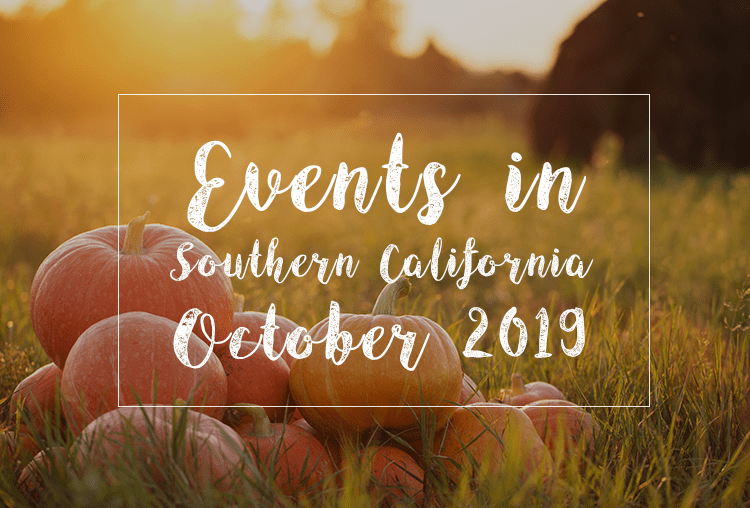 Fall and Halloween Events in Southern California | October 2019