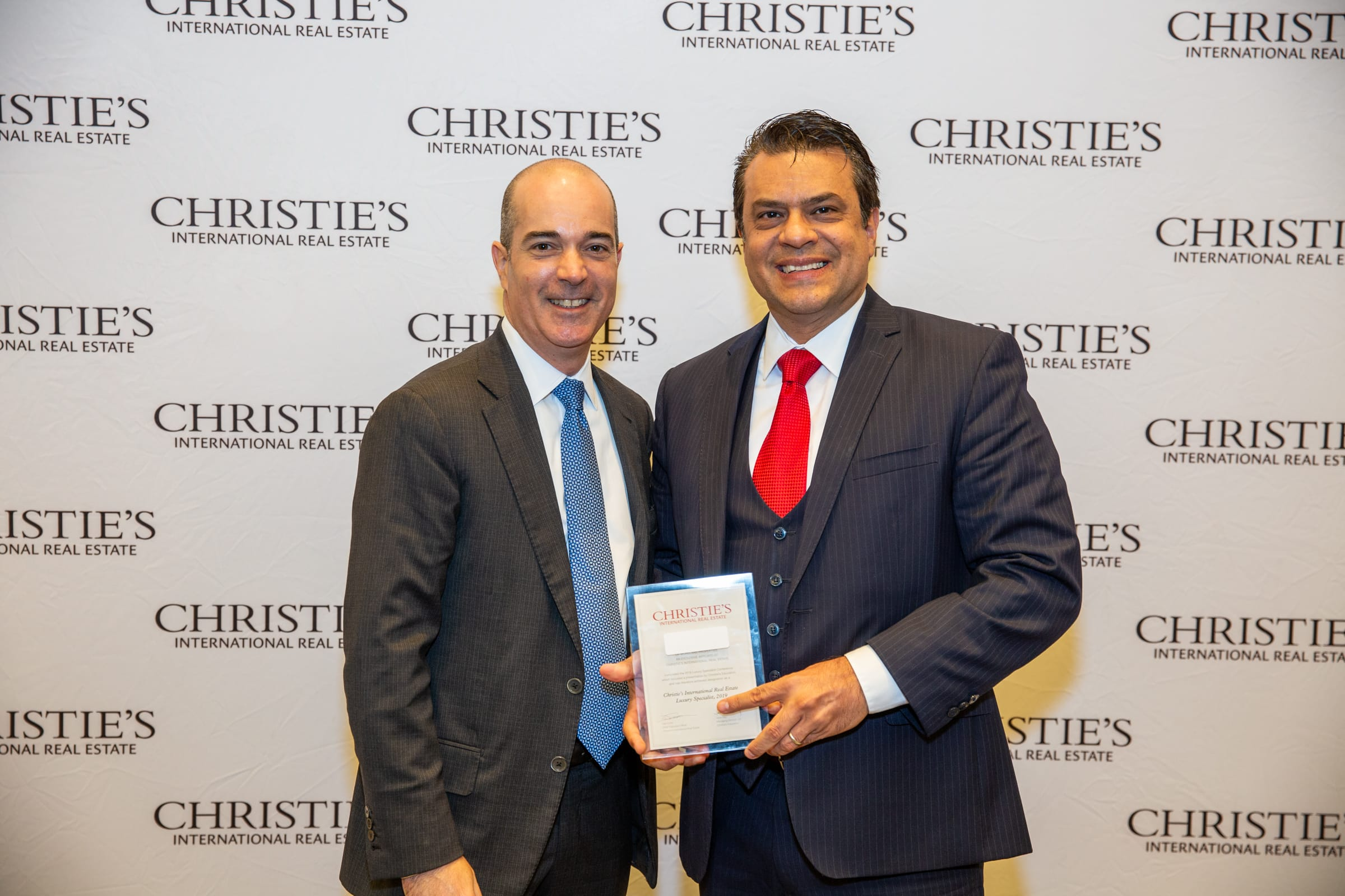 Luxury Specialist Pablo Rener and Christies' International Real Estate executive