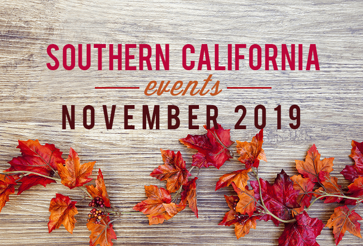 Events in Southern California | November 2019