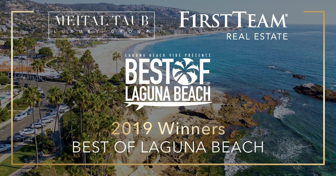 Meital Taub and First Team Real Estate Win 2019 Best of Laguna Beach