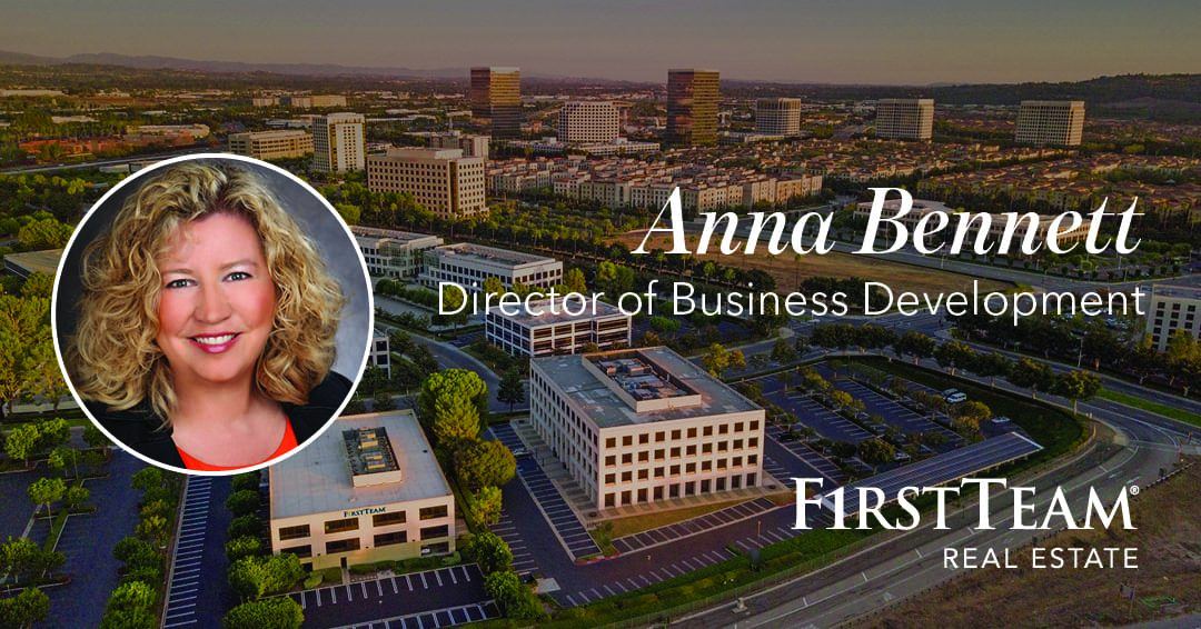 Anna Bennett Continues The Remarkable Growth of First Team Real Estate As Director of Business Development