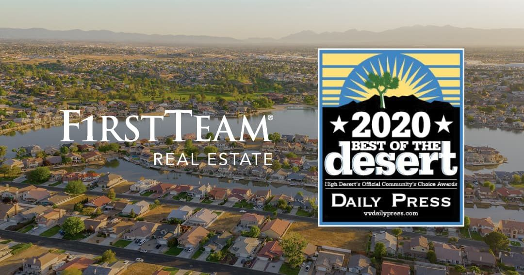 First Team Continues Rapid Growth Within High Desert, Bringing Essential Services to More Home Buyers and Sellers