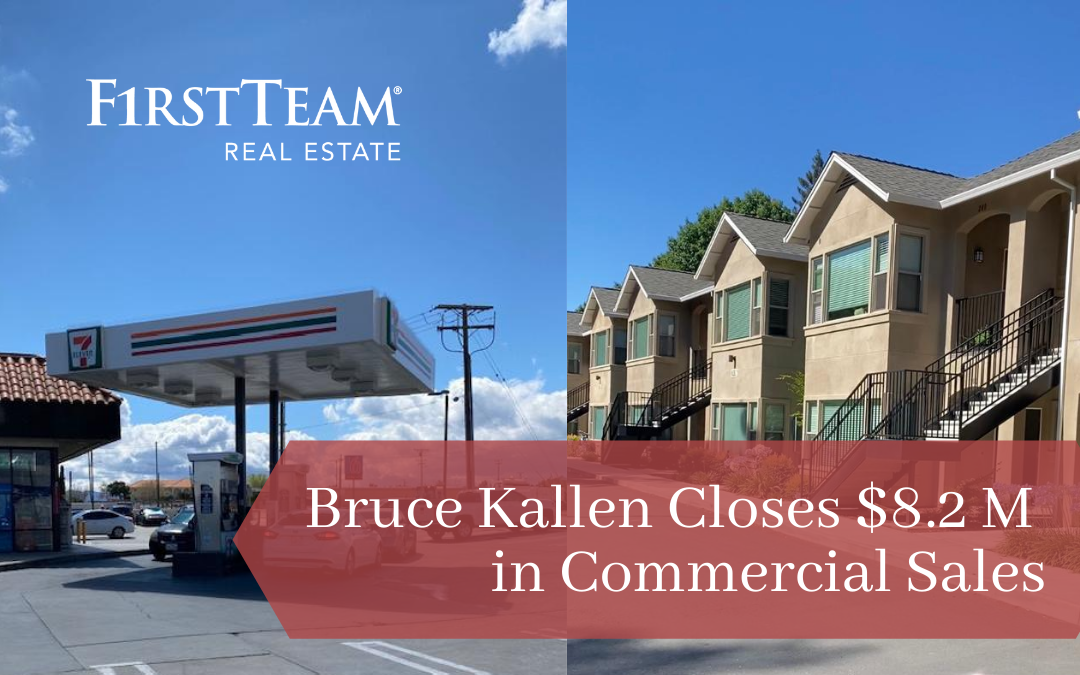 First Team High Desert's Commercial Broker Bruce Kallen Closes $8.2 Million in Sales in Just One Week