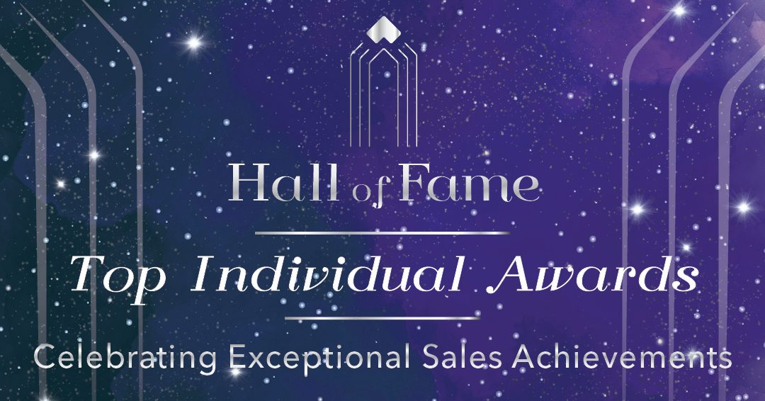 2019 Hall of Fame Top Individual Award Winners