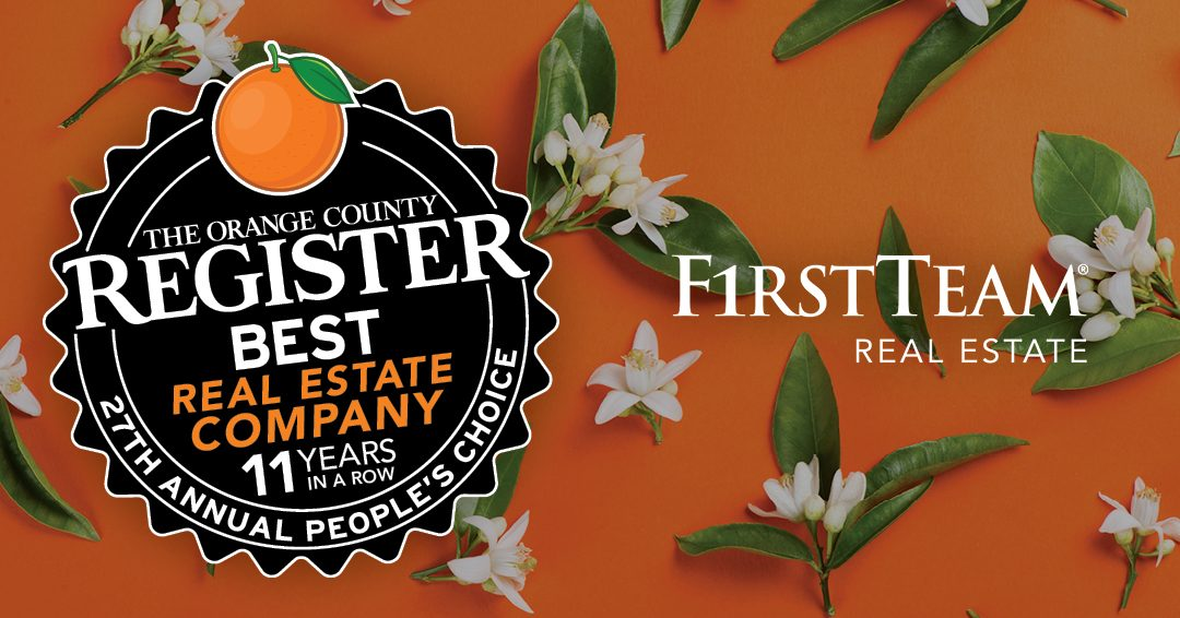"Thank You For Voting First Team ""Best Real Estate Company"" 11 Years in a Row"