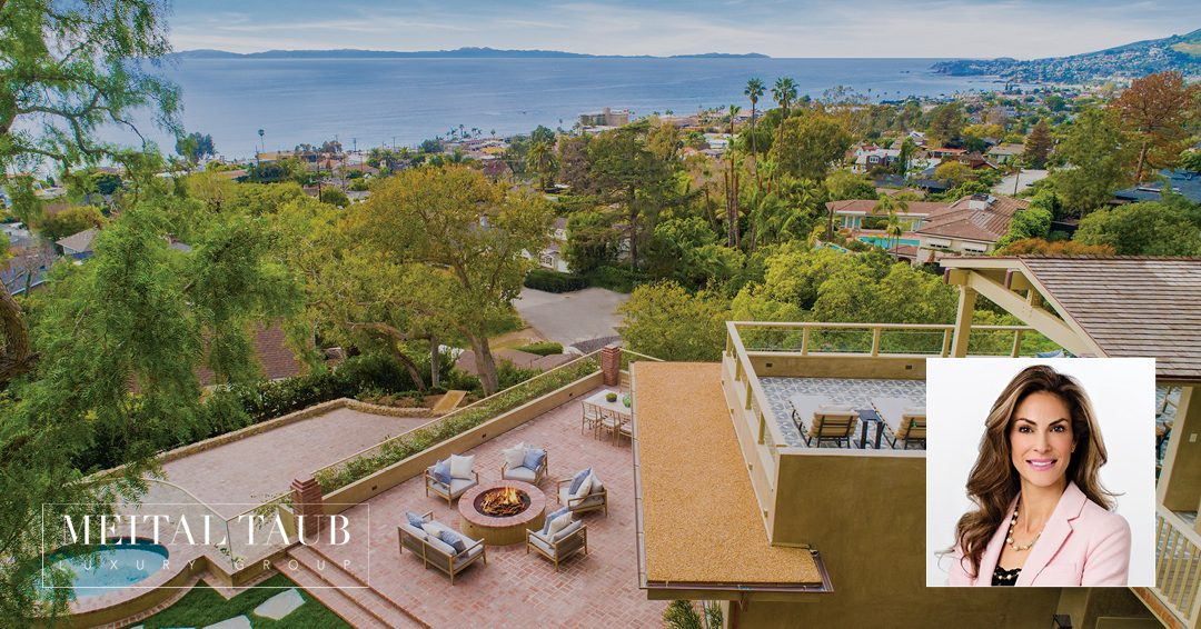 Laguna Beach Real Estate Expert Meital Taub Represents Buyer and Seller of $11 Million Coastal Estate