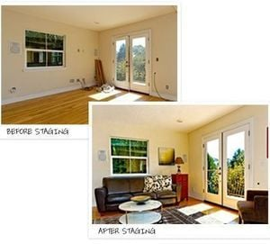 Before & After Staging