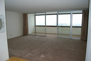Great Room with Sun Room Partition