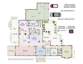 3639 21st Street ML Floor Plans