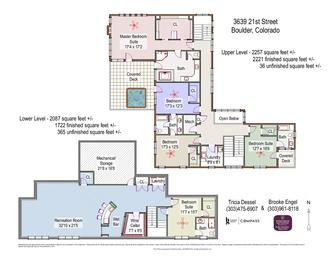 3639 21st Street UL LL Floor Plans