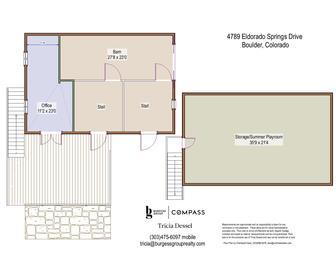 4789 Eldorado Springs Drive outbuilding