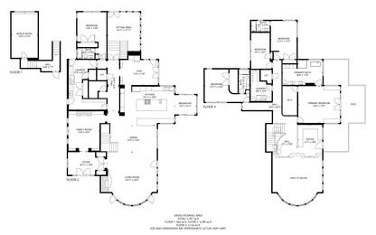 4789 Sunshine Canyon Drive floor plans 4