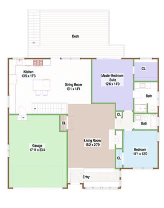Main Floor Hillsdale