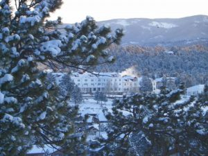 Stanley Hotel on the First Day of Spring