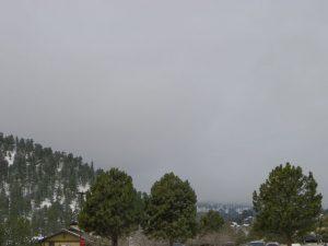 Longs Peak Disappears in Estes Park, Colorado