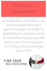 easement in real estate