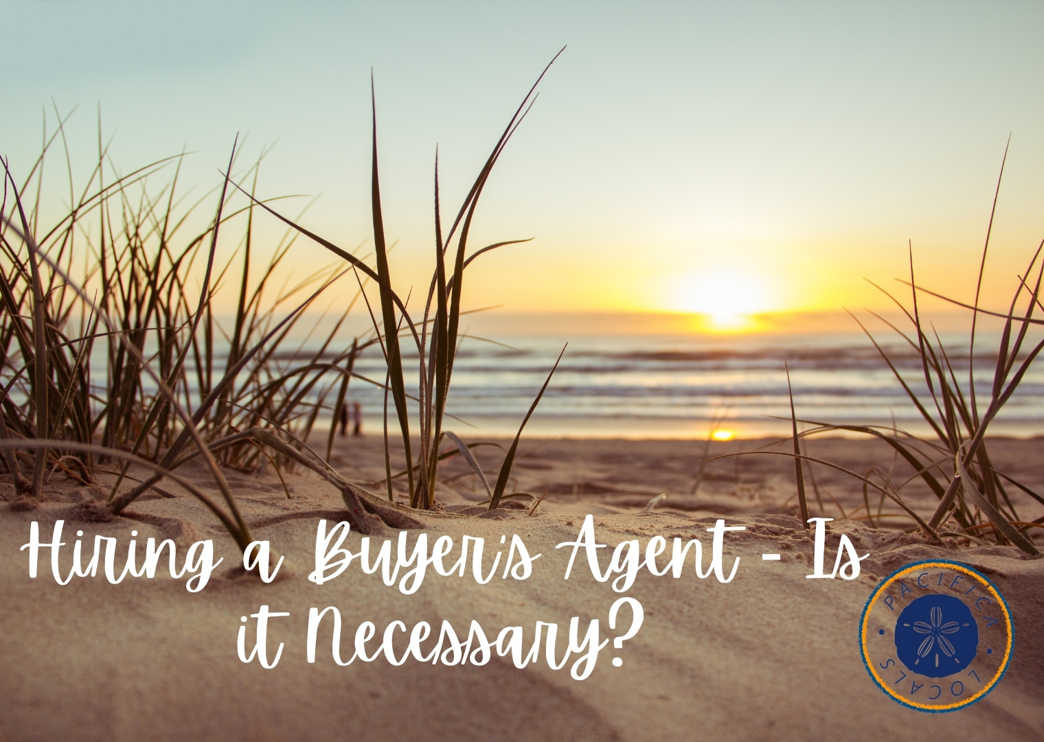 sunset on the beach with Hiring a Buyer's Agent - Is it Necessary?
