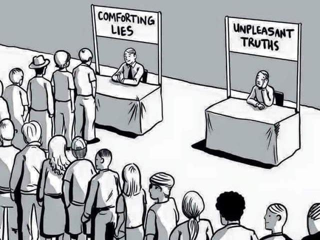 Would You Choose Unpleasant Truths or Comforting Lies?