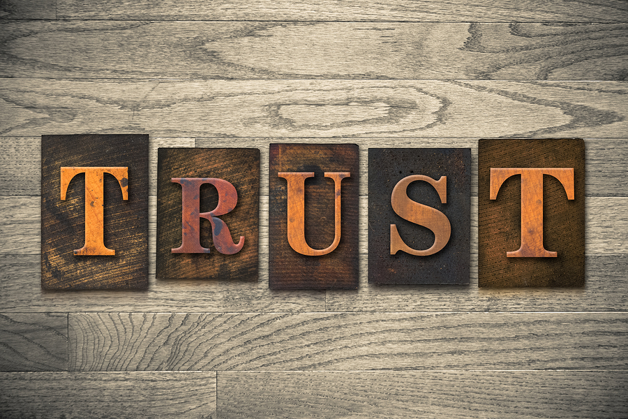 The One Thing Is: TRUST