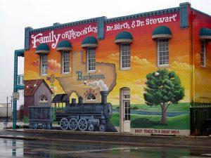 Burleson Texas Mural