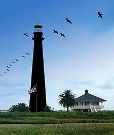Bolivar Texas Lighthouse