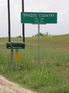 Picture of City Limit Sign, Brazos Country