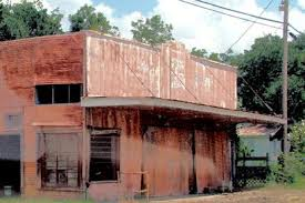 Picture of Daisetta Texas old rusted barn