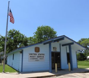 Picture of Liverpool Texas Post Office