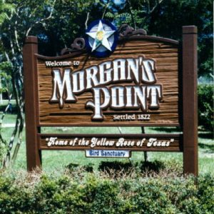 Welcome to Morgan's Point Texas