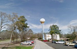 Water Tower in Panorama Village Texas