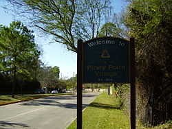 City Sign of Piney Point Village