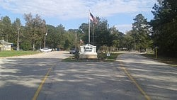 Picture of Roman Forest Texas, Entrance and welcome sign