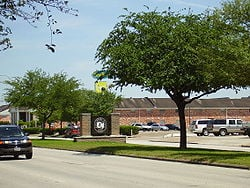 Picture of Southside Place town shopping center