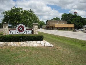 Picture of Wallis City Sign