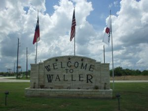 Picture of a Welcome sing for Waller Texas