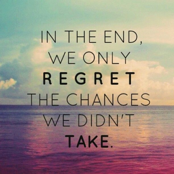 What Will You Regret More?